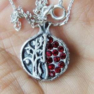 ARMENIAN PRAYER PENDANT Lord/'s prayer necklace armenian words armenian pomegranate necklace armenian jewelry armenian gifts armenian letters