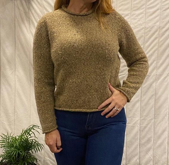 Vintage 1990s Charter club Sailors sweater. Tan - image 3