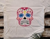 Dia De Los Muertos, Halloween tshirt for Women, Sugar Skull tshirt, Birthday Gift
