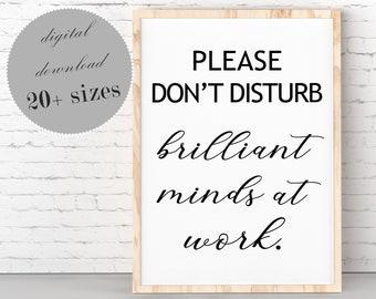 Do Not Disturb Quote Etsy