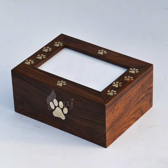Indian Wood Quality Rosewood Box Gift Pens Business Cards Jewellery Pet Ashes