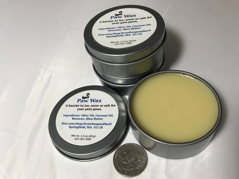 Paw Wax Paw Balm for Dogs and Cats 1.5 oz. image 0