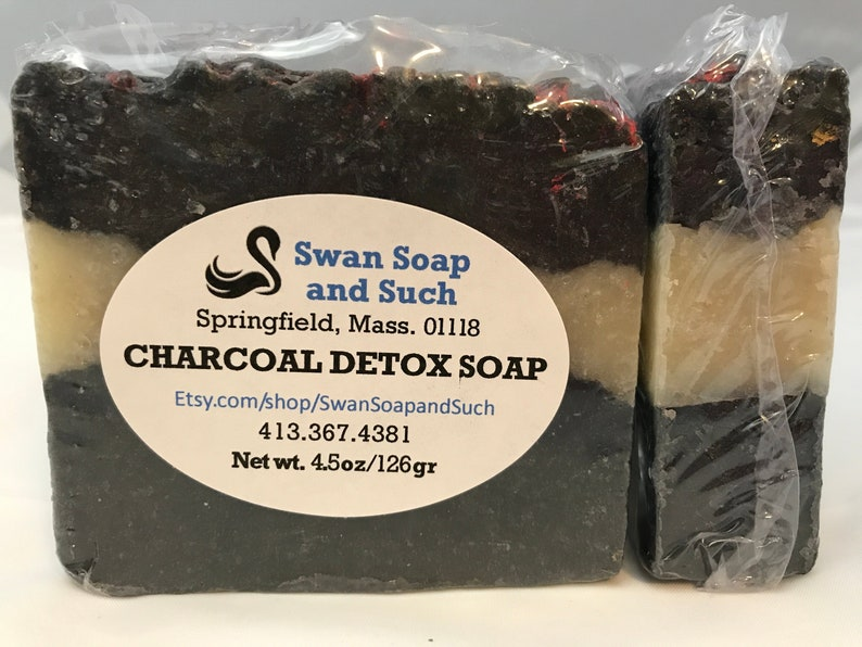 Charcoal Detox Soap on Fire image 0
