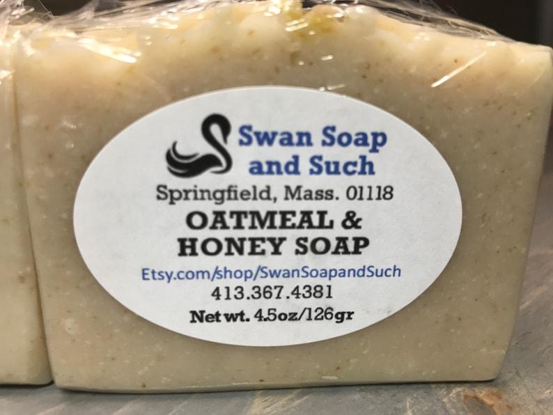 Oatmeal and Honey Soap 4.5 oz. image 0