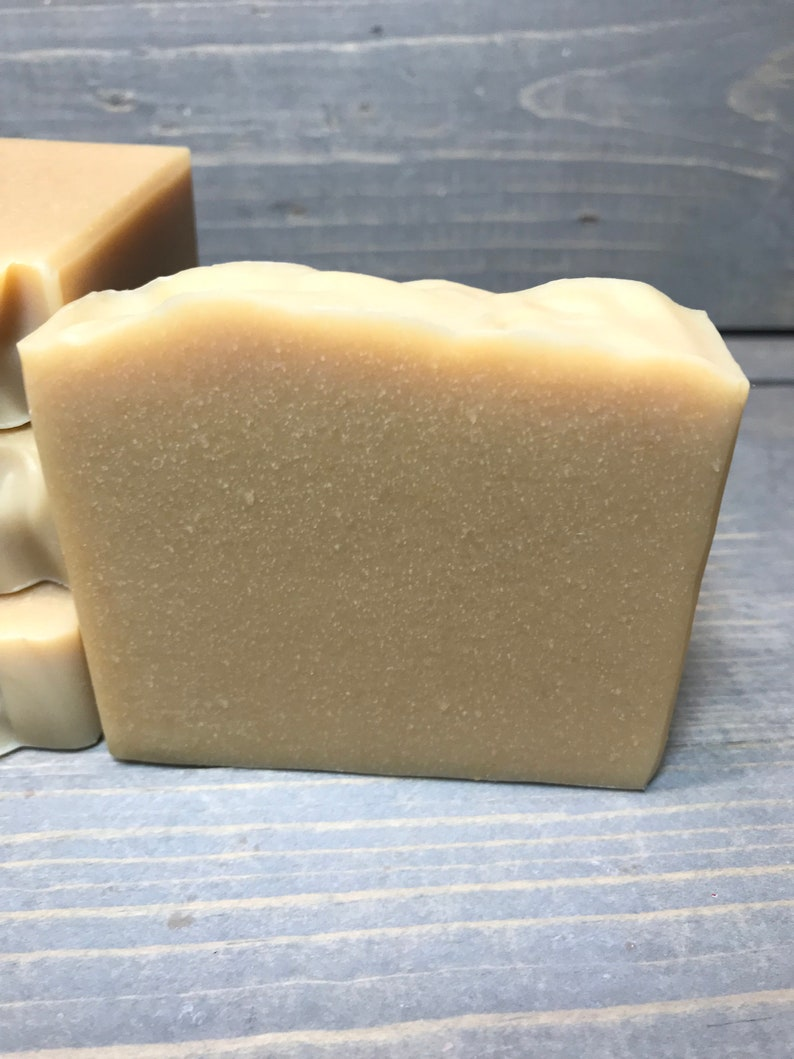 Goat's Milk and Honey Soap  Super Creamy image 0