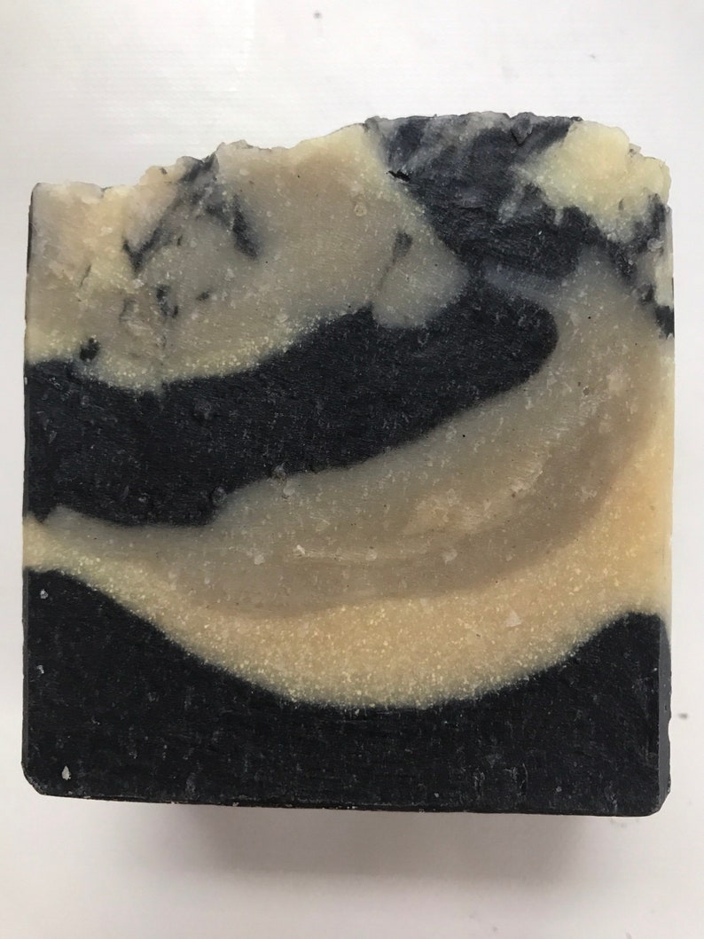 Sulfur Soap Bentonite Clay Activated Charcoal Tea Tree EO image 0