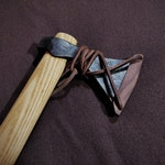 Wooden Axe Sheath - Custom - Viking Style