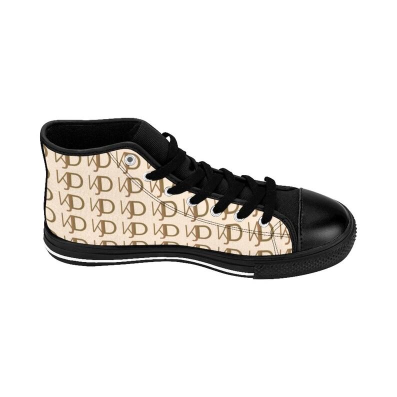 Kjd Logo WomenS HighTop Sneakers di mailon Jewelry Designs k6iirl1a