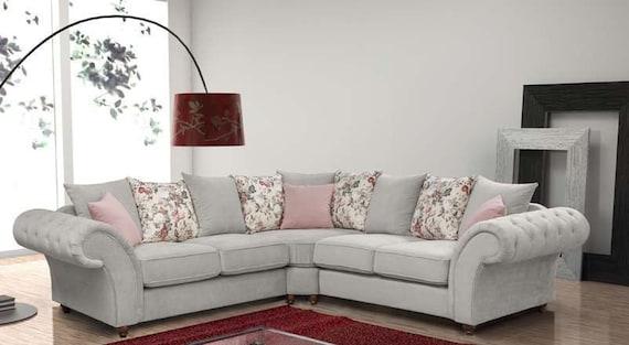 Phenomenal Annabelle Chesterfield Sofa Corner Or 3 2 Machost Co Dining Chair Design Ideas Machostcouk