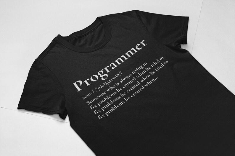 e24de817 Programmer T Shirt Programmer Definition Debugging Shirt | Etsy