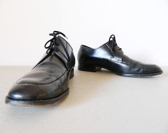 855732b0f9628e Vintage Herrenschuhe   vintage shoes   Männerschuhe   Salamander Herren  Schuhe   Lederschuhe   Schuhe schwaz Leder