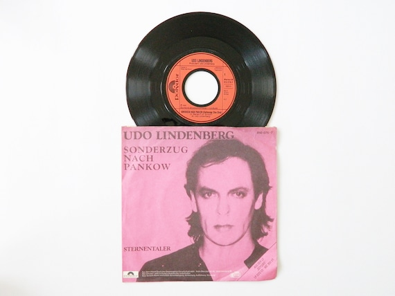 Udo Lindenberg Vinyl 1983/Special train to Pankow 45 rpm/Records/record