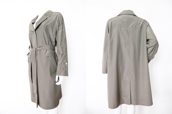 Vintage Trench/trench coat/80s mantle/coat 1980 's/vintage coat Marcona/coat Marcona