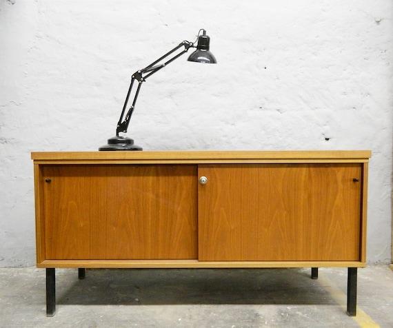 60s sideboard/sideboard metal legs/60s closet/vintage dresser
