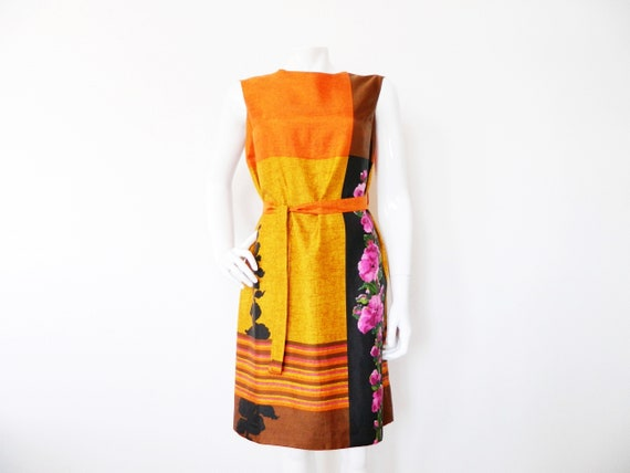 70s dress/vintage dress/Tricel dress/Sheath dress/1970 's dress/vintage Dress