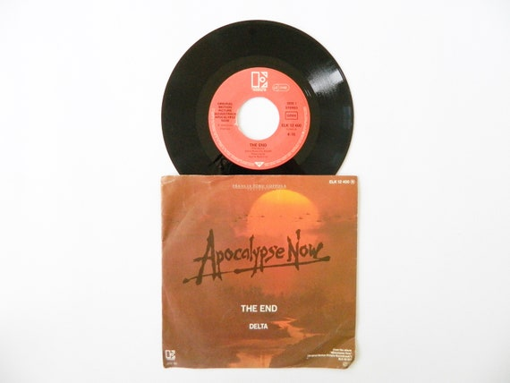 Apocalypse Now vinyl 1979/the end 45 RPM Doors/record/record