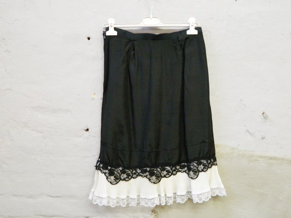 50s skirt/underskirt/vinatge underskirt/50s skirt black white/50s dress