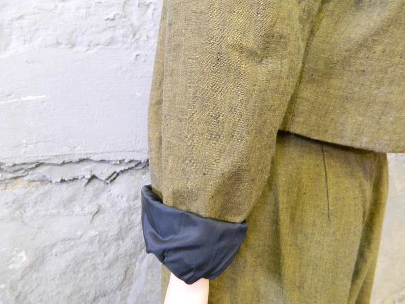 80s pants and jacket  pperbag pants  green trouser suit  carrot pants  vintage jacket  1980s pants jacket  suit