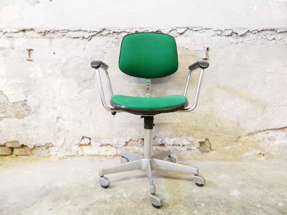 Chair Drabert/vintage office chair/Drabert desk chair/60s desk armchair/swivel chair/chair on rolls