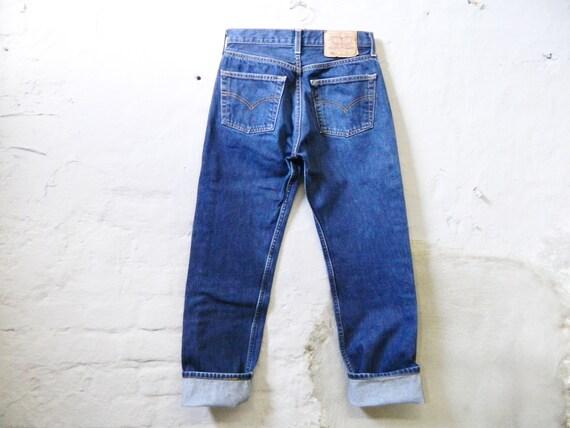 80s Levis 501/Levis Jeans W29/80s denim pants/vintage jeans Levis 501