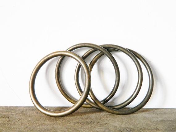 Antique bangles oriental/Orient bangles/antique jewelry/bangles set vintage/metal bangles