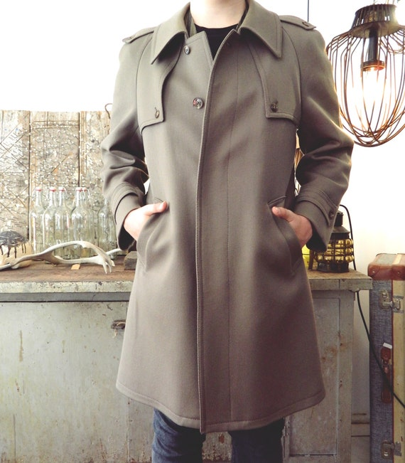 Vintage coat/coat 70e/coat Brown/Men coat 1970 's London