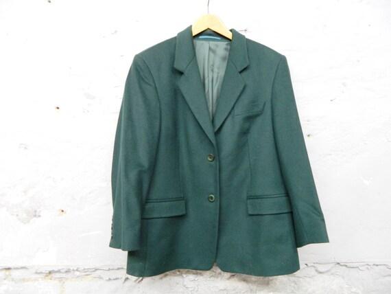 70s blazer cashmere wool / vintage blazer / 70s ja