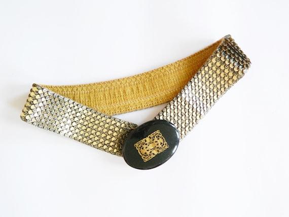 Vintage belt gold / 70s belt / metal belt / metal belt / vintage belt / 1970s belt