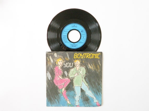 Boytronic Record/Boytronic You vinyl 1983/Vinyl Records/Boytronic record 45 rpm/New Wave