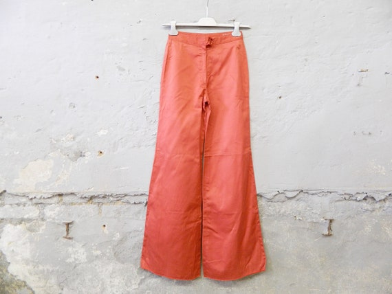 70s pants/batting pants/vintage pants red/1970s pants Samex