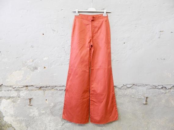 70s pants/batting pants/vintage pants red/1970s pants Samex