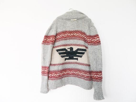 Vintage Strickjacke Wolle / Herren Jacke / Wolljacke Männer / Männer Jacke