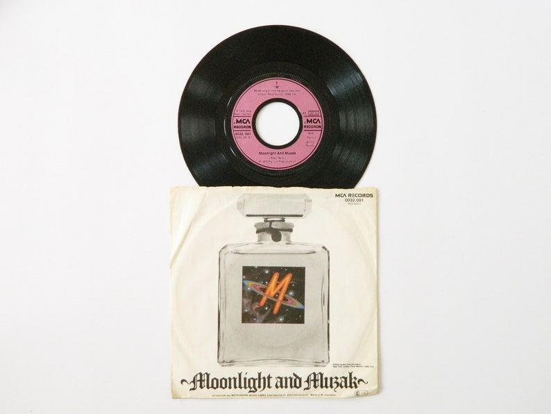 M Moonlight and Muzak record 1979/vinyl/records