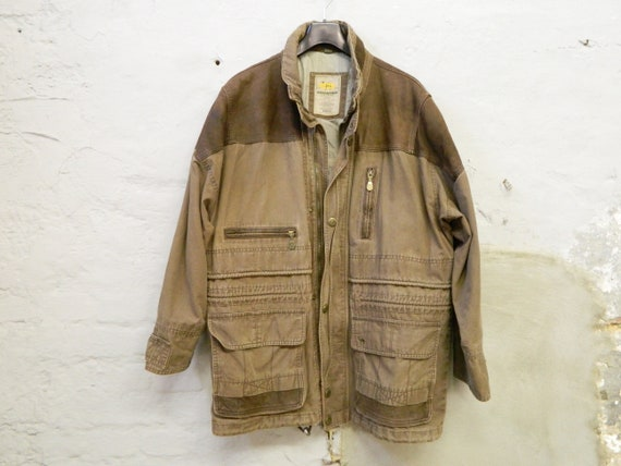 Outdoor jacket Camel/vintage men's jacket Camel/men jacket brown/vintage men's jcke/80s jacket men's