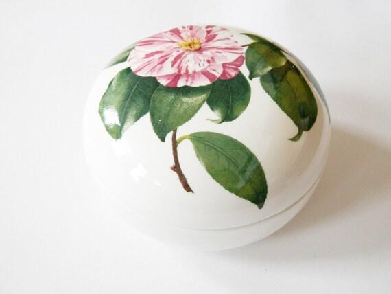 Porcelain can/Villeroy & Boch Tin/jewellery can/Bonboniere/vintage tin/floral pattern vintage
