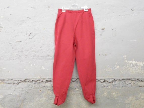 1950s pants / 50s ski pants / stretch pants / vint