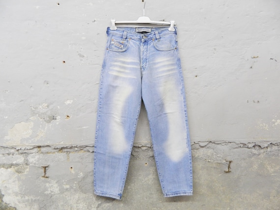 80s jeans men/picaldi/vintage jeans/1980s pants men/denim pants wide