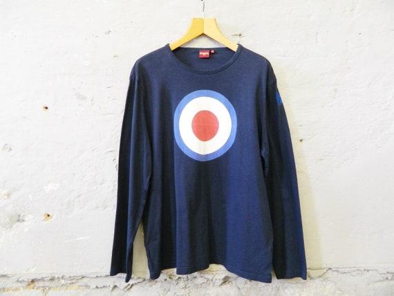 Merc London shirt / men's shirt vintage / 90s t-shirt long sleeve / men shirt cotton