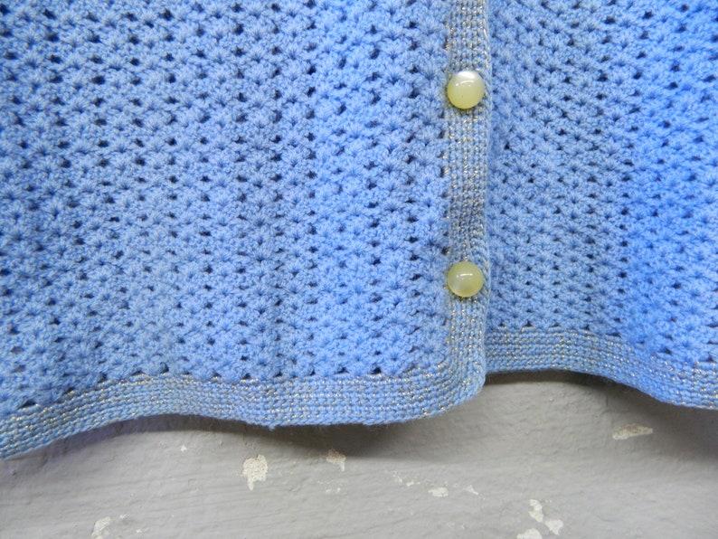 40s Cardigan  40s Jachre Jacket Knitwear  Cardigan  vintage sweater  crochet jacket