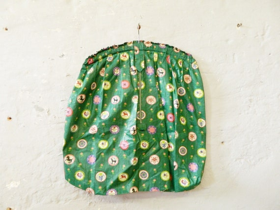 Large laundry bag mid century / 50s laundry bag / bag for laundry