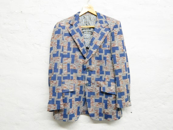 Men's jacket 70s/vintage men jacket/1970s jacket/vintage jacket/70s jacket