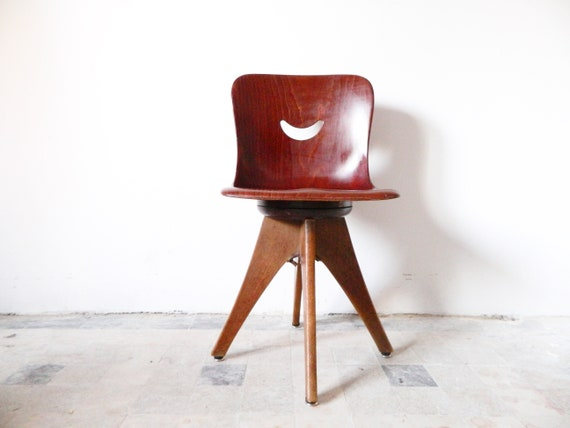 Pagwood Chair/vintage Chair Flötotto/50s Children's Chair Pagholz/Pagholz FFF Chair/children's Room Chair/children's Furniture