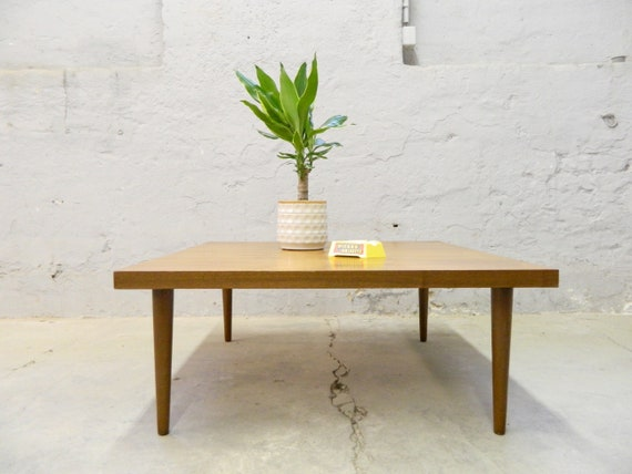 Sixties coffee table/living room table/table wood/vintage sofa table/coffee table 60/wooden Table
