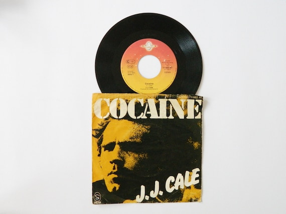 J. J. Cale Vinyl 1976/Cocaine 45 rpm/Record