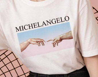58f3421c Michelangelo Creation T-shirt,Michelangelo Creation Sweatshirt
