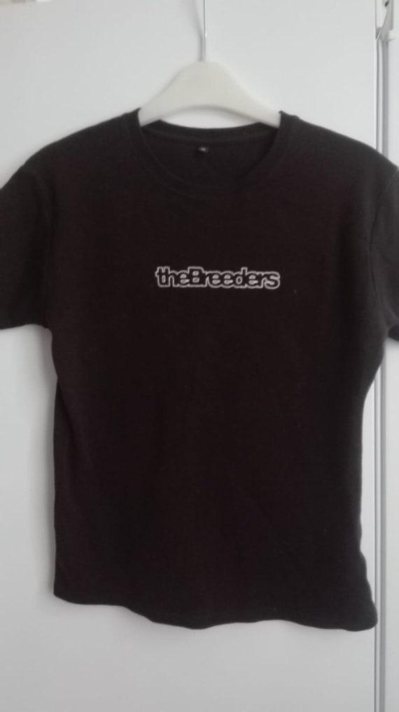 The BREEDERS original 2002 vintage tshirt no bootl
