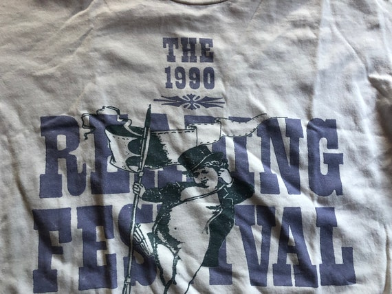 READING FESTIVAL 1990 original shirt. the cramps,