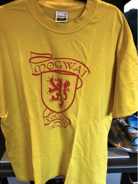 MOGWAi band ORIGINAL SCOTLAND tshirt, bought in 20