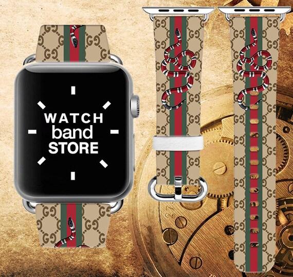 2ebe0a82506 Gucci iWatch band Gucci Snake band iWatch band Gucci Apple