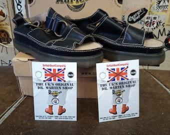 Dr Martens 8422 Made in England Black Sandal Size 12